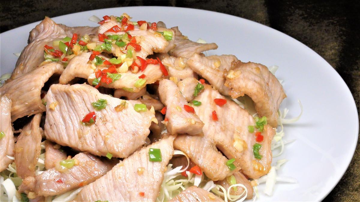 豬肉片料理(2-3人)