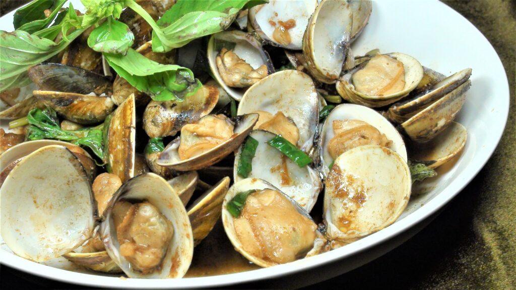 沙茶蛤蜊(2-3人)