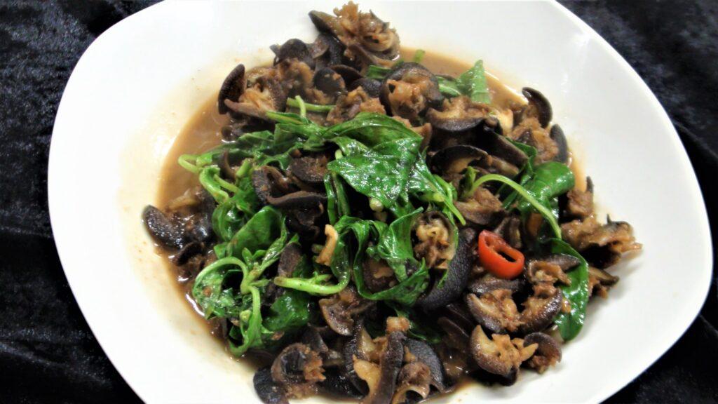 沙茶炒螺肉(2-3人)