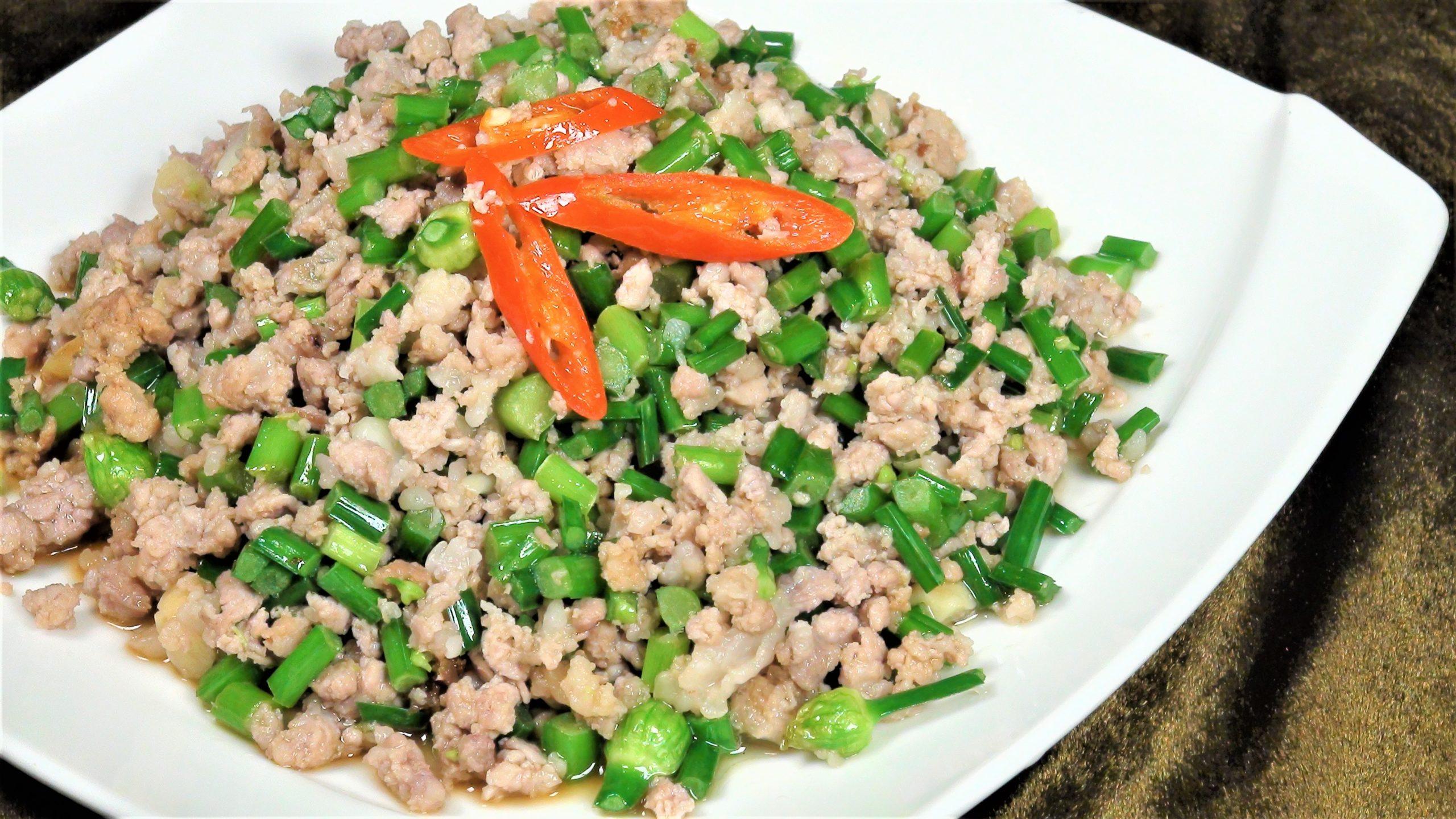 豬絞肉料理(2-3人)