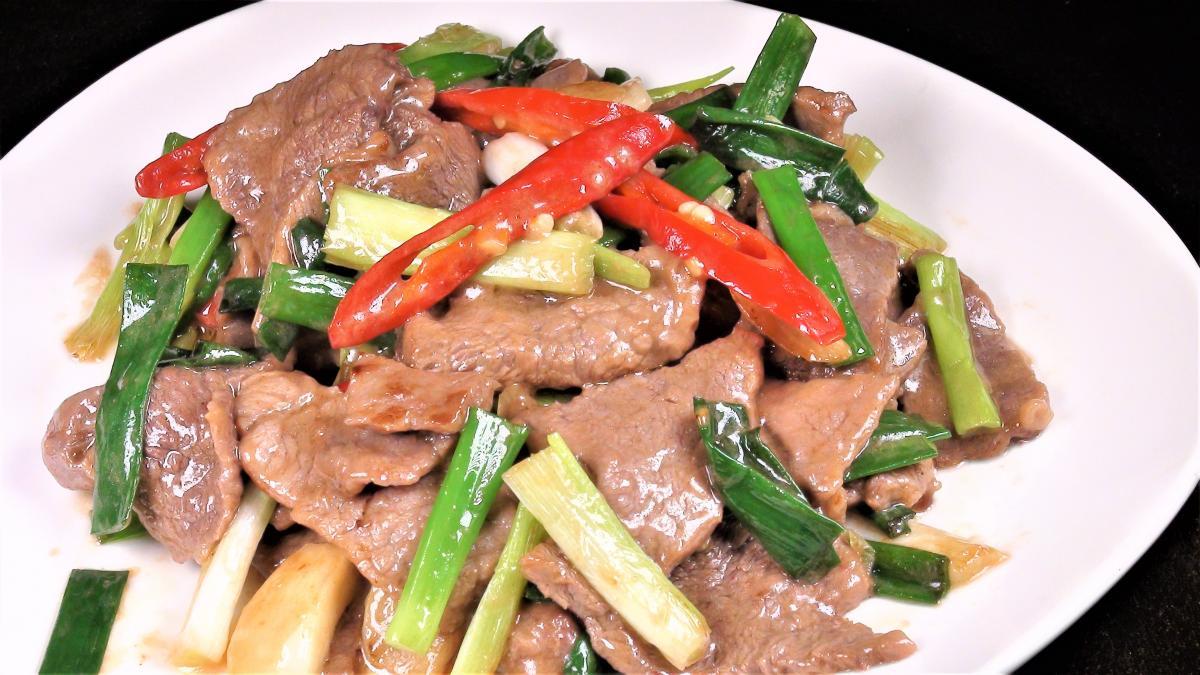 牛肉片料理(2-3人)