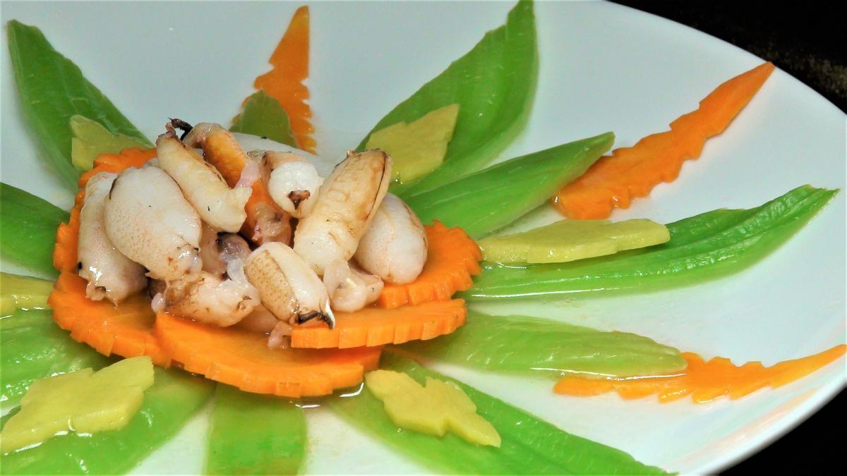 蟹肉燴芥菜