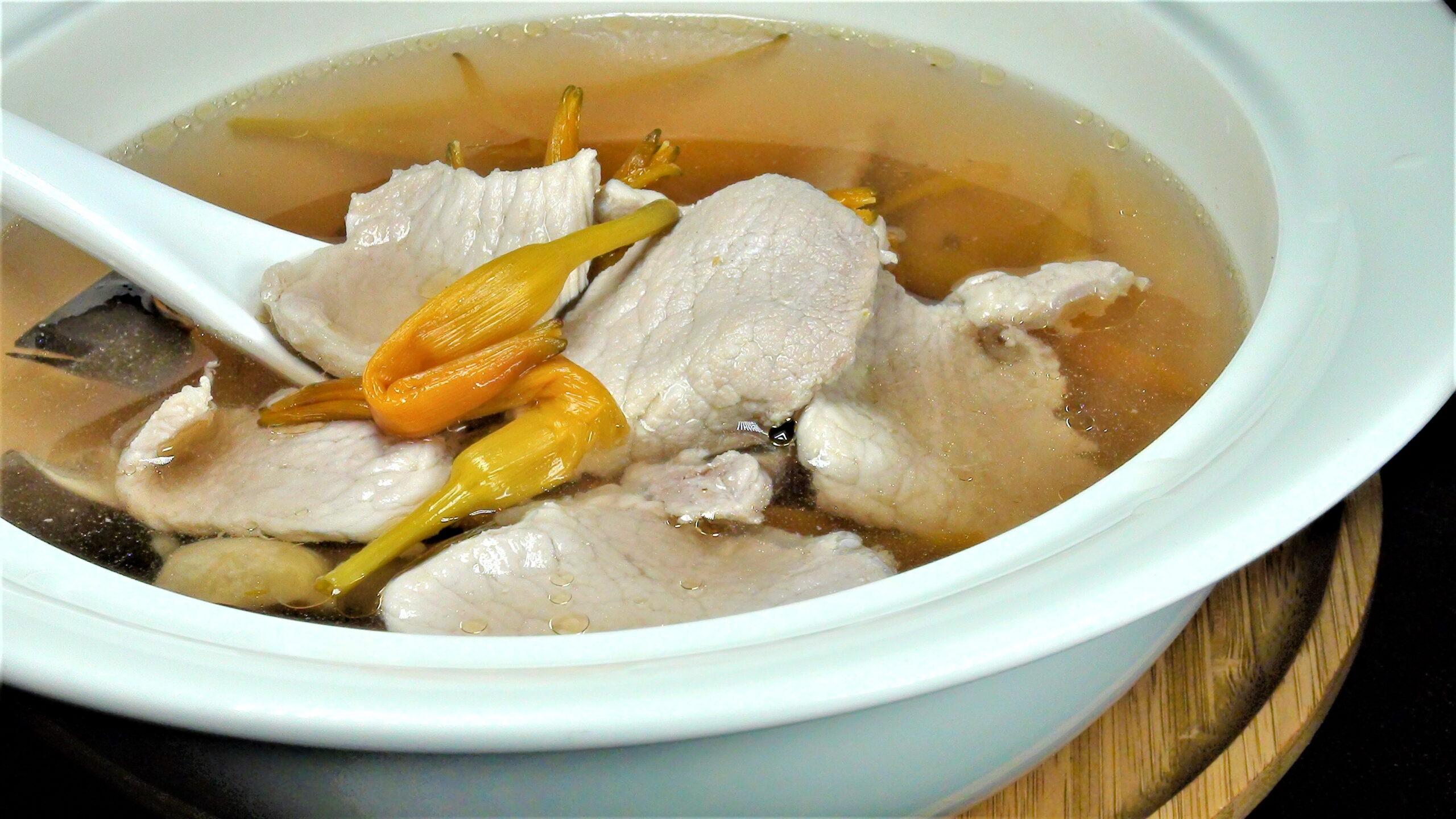 金針肉片湯(3-4人)