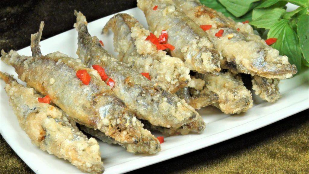 香炸柳葉魚