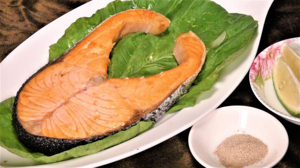 香煎鮭魚片