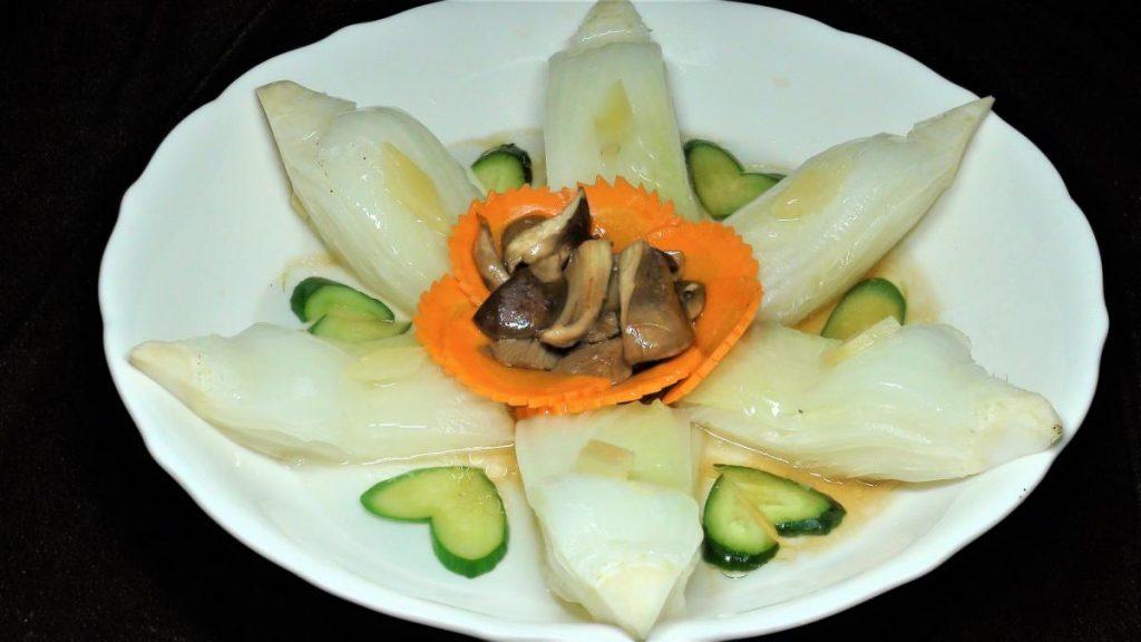 鮮菇燒白菜