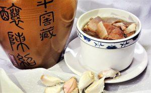 蒜頭羊肉湯