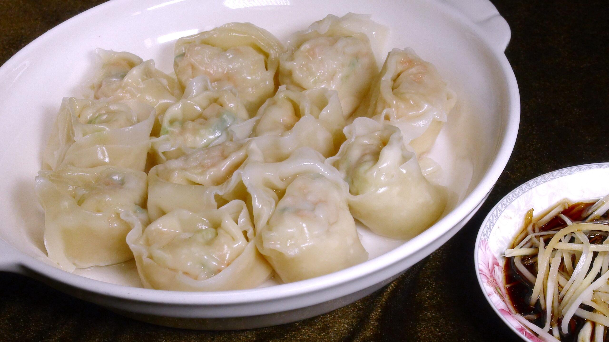 餛飩餃 (香醋醬)