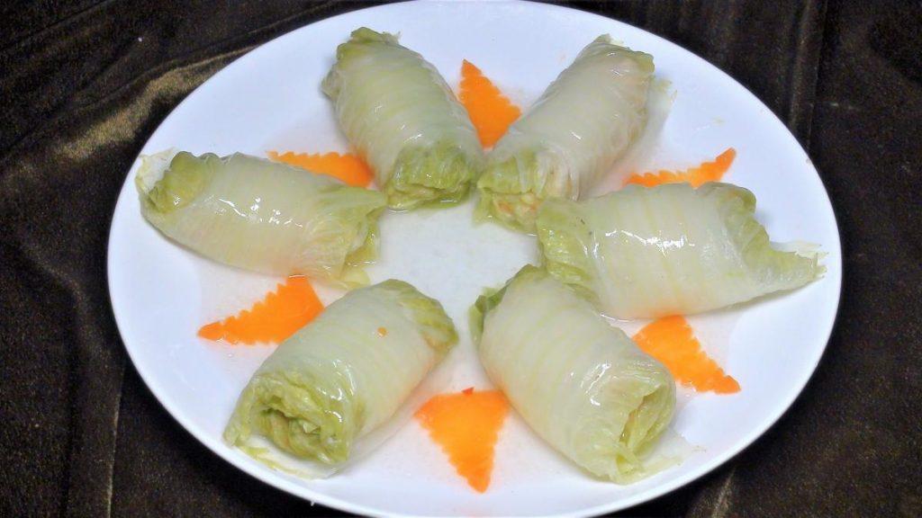 什錦白菜捲