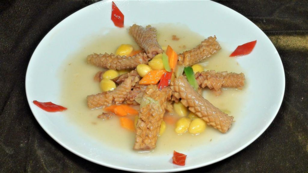 百果炒魷魚