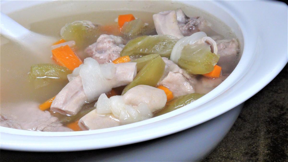 筍干小腸排骨湯