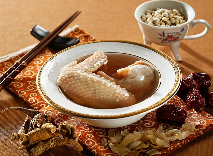 川貝百合雞湯