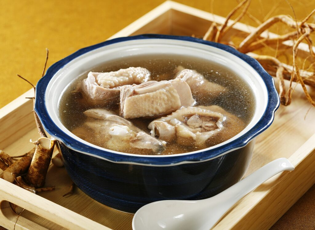 鮮品九尾草雞湯
