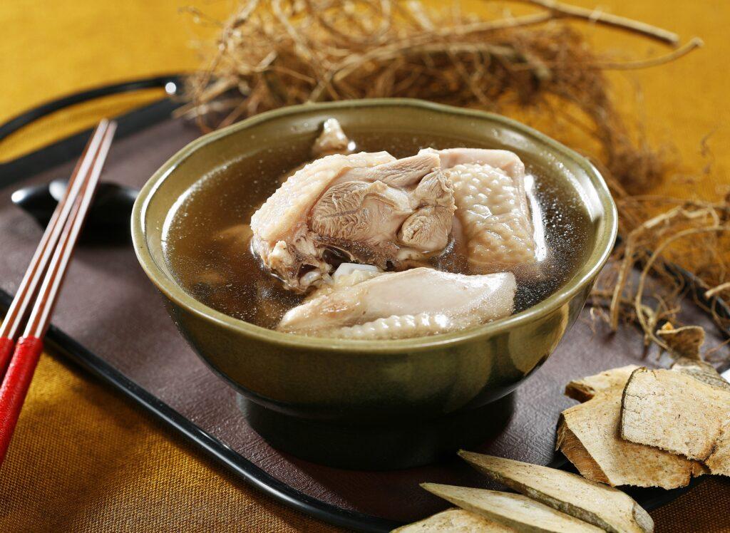 鮮品牛奶埔雞湯